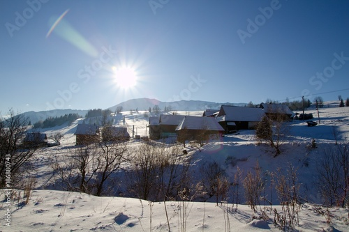 winter country in Slovakia - 186880743