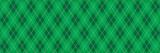 Green Argyle Banner Background