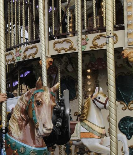 Keuken foto achterwand Amusementspark Tiovivo