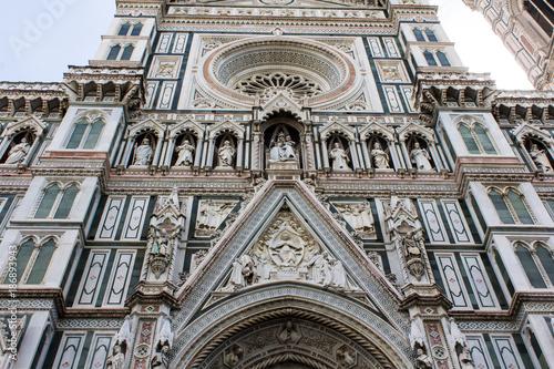 In de dag Florence FIRENZE, ITALIA - LUGLIO 25, 2017: architetture del centro storico - Toscana