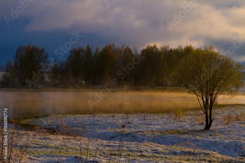Fotobehang Ochtendgloren Sunrise