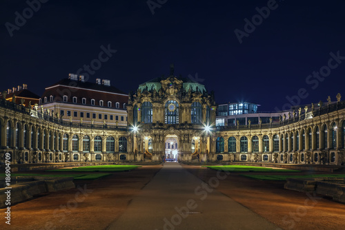 Palace Zwinger in Dresden,Saxony,Germany - 186904709