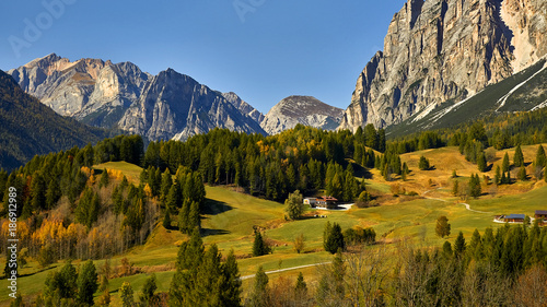 Fridge magnet Parco naturale Tre Cime, Dolomites, Italy