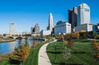 City of Columbus Skyline and the Scioto Mile