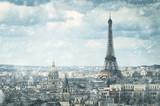 Fototapety snow in Paris