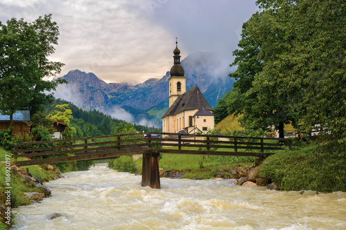 St. Sebastian church in Ramsau - 186920197