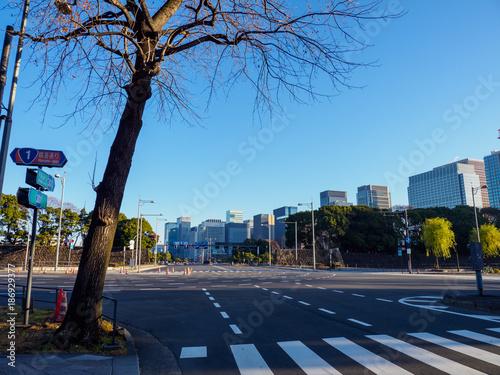 Foto op Aluminium Blauw 東京丸の内
