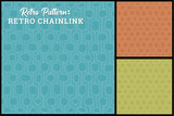 Retro Background Pattern in 3 colors