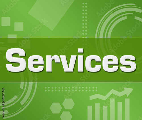 Services Green Technology Background Square
