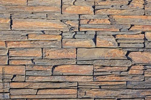 In de dag Stenen decorative stone wall, background texture