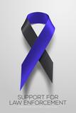 Black-blue ribbon sy...