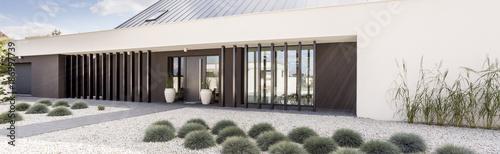 Foto Murales Garden with stones