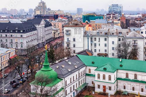 Fotobehang Kiev Castles and palaces