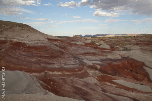 Foto op Plexiglas Cappuccino View of the red rock formations in Capitol Reef National Park