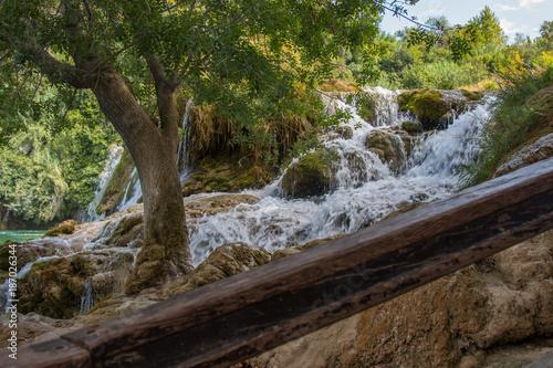 Papiers peints Rivière de la forêt Krk National Park - Croatia - A Day in the beautiful Nature