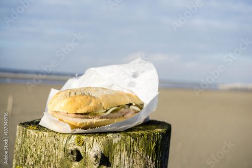 Foto op Plexiglas Noordzee Typisch Nordsee Nordseeküste