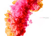 Color Explosion. Colorful Acrylic Ink in Water.