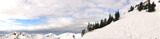 Alpen Gipfel Panorama Walsertal