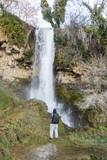 The 70 meters tall waterfall of Edesaa Greece.