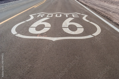 Tuinposter Route 66 Route 66 USA.