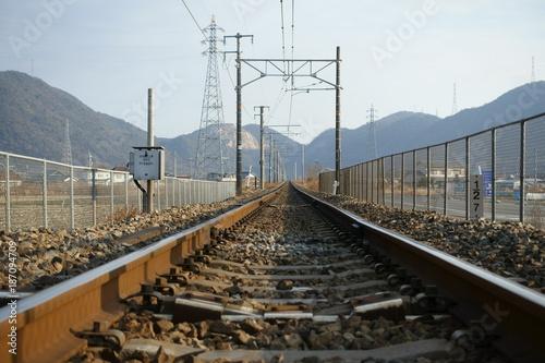 In de dag Spoorlijn 赤穂市の赤穂線