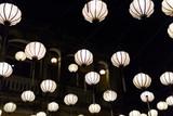 Colorful oriental lanterns - 187104963