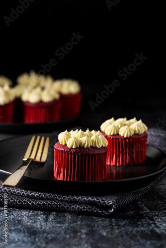 Foto Murales Red Velvet cup cakes