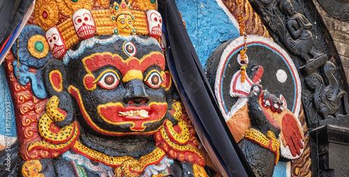 Plakát Kala Bhairava Temple, Kathmandu, Nepal