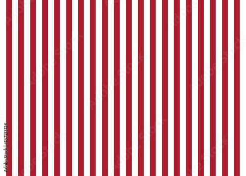 Red and White Stripes © JJAVA
