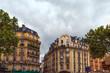 beautiful Parisian architecture. France
