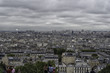 The view from the sacred mountain of Montmartre in Paris amazing. France