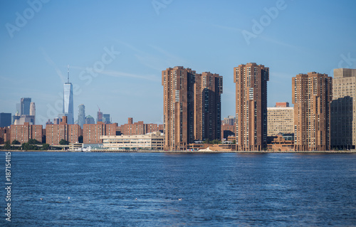 Juliste View of New York City skyline from Brooklyn