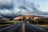 road, highway, landscape, sky, desert