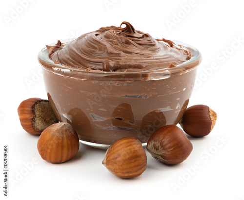obraz lub plakat Hazelnut chocolate cream