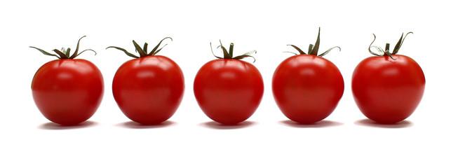 Tomates en rang