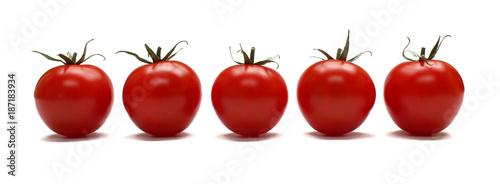 Fotobehang Verse groenten Tomates en rang