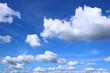 blue sky with Cumulus clouds - 187185337