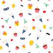 Happy birthday pattern - 187212990