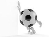 Soccer ball character - 187217566