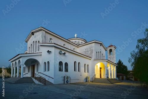 Fotobehang Cyprus Zypern - griechisch-orthodoxe Kirche bei Limassol