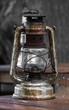 Antike Sturmlampe