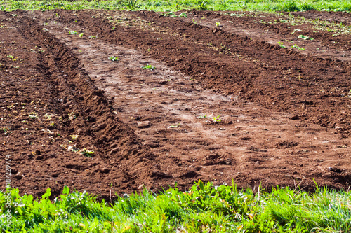 Agricultural land with fertile soil in Asturias, Spain