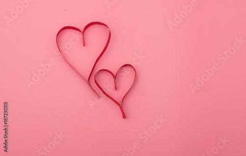 Valentine's paper heart , day valentine, valentine's day - 187230313
