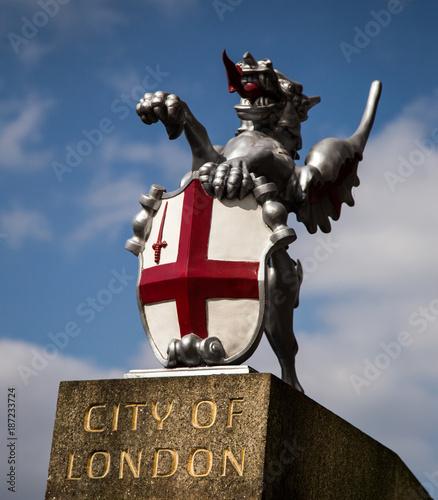 Fotobehang London Dragon of London