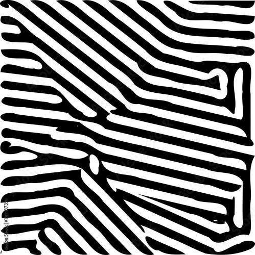 Fototapeta Abstract black wide lines pattern background illustration