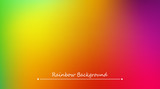 Abstract rainbow background. Blurred colorful rainbow background. Mesh background of rainbow colors. Vector illustration - 187254915
