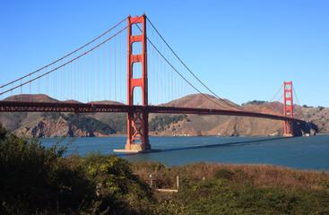 Golden Gate Bridge Brush View