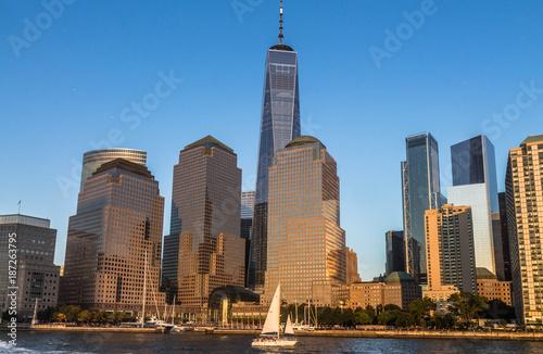 Foto Murales Skyline di Manhattan