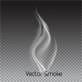 vector cigarette smoke on transparent background. Isolated smoke - 187287340