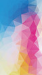 Vertical Flat Background of geometric triangle shapes.
